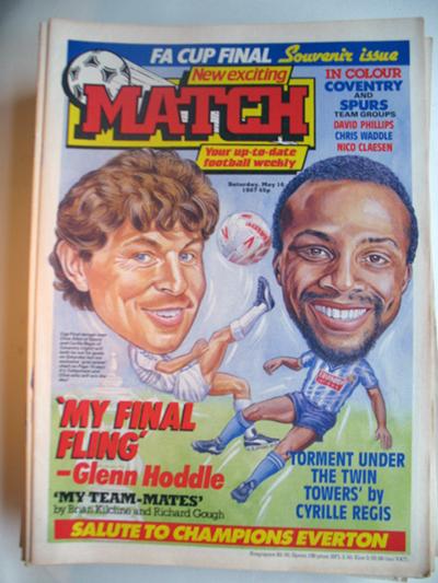 Image of 1987 05 16 Match Magazine